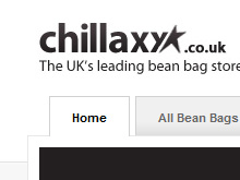 Chillaxx bean bag website